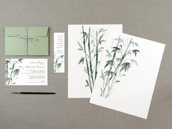 Matrimonio e piante di Bambù