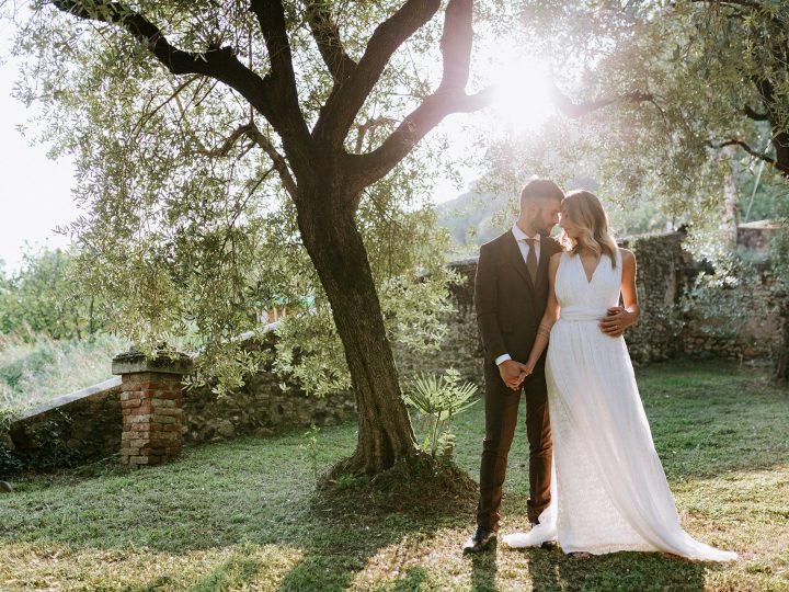 Matrimonio intimo ed eco-friendly in Serra